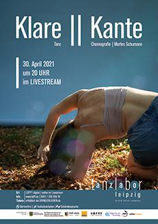 Plakat Klare || Kante. Alle Infos im Text.