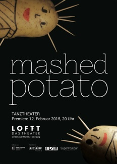 Plakat mashed potato