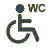 Icon behindertengerechte Toilette