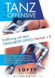 Plakat Tanzoffensive Heimat +3