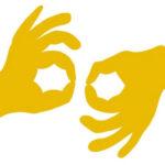 Icon für Gebärdensprache