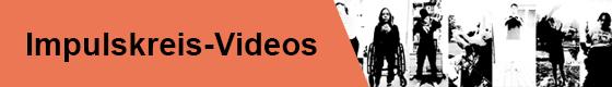 Banner für Impulskreis-Videoprojekte mit Schwarz/Weiß Bildern von verschiedenen Tanzenden mit und ohne Behinderung.